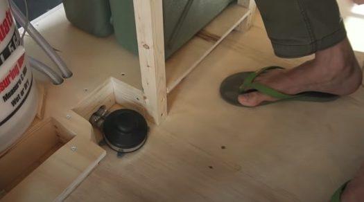 Sinks make van living much more homey