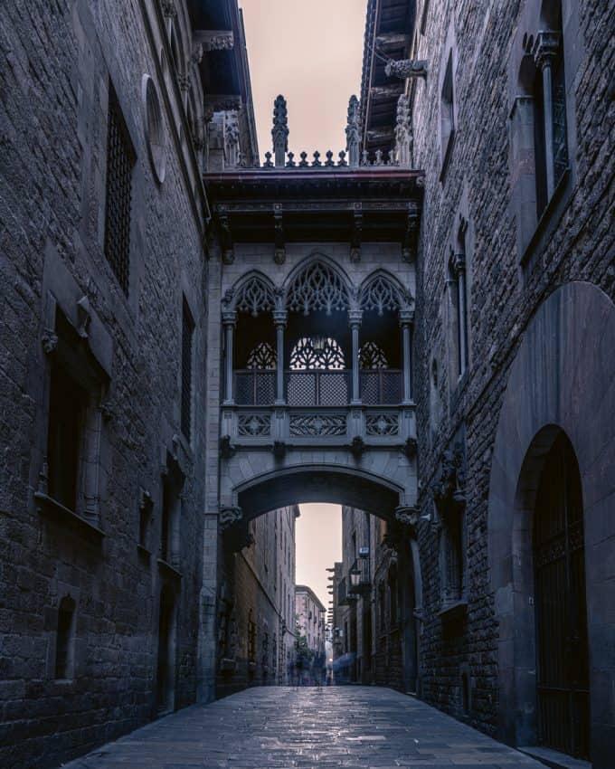 Pont-dels Sospirs, Barcelona
