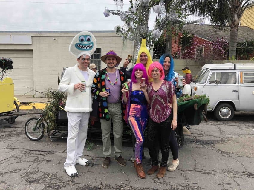 Friends in New Orleans get ready for another Mardis Gras party in the Big Easy.