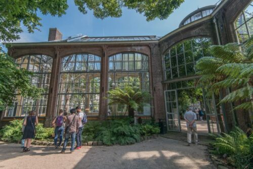 The Palm Greenhouse is a historic building and architectureal gem that dates from 1911. Photo Credit: Koen Smilde Photography