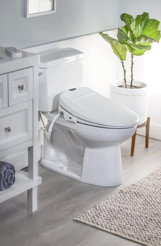 Omigo bidet toilet seat for Father's Day