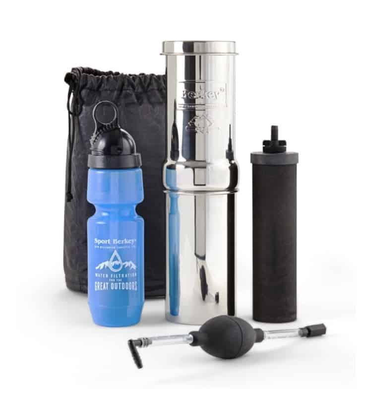 Go Berkey water purification system