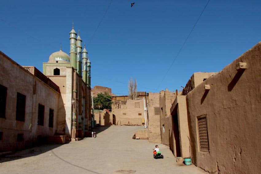 Turpan, in Sizzling Western China 1