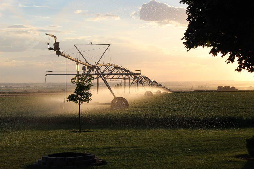 Irrigation rig in Southern Idaho, bringing life to Magic Valley.