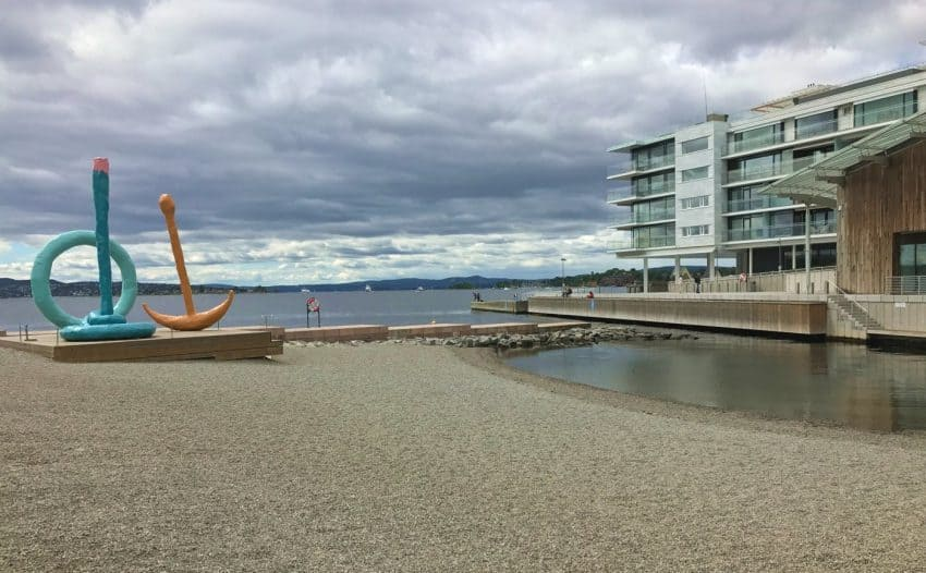 A view of Oslo's astonishing waterfront
