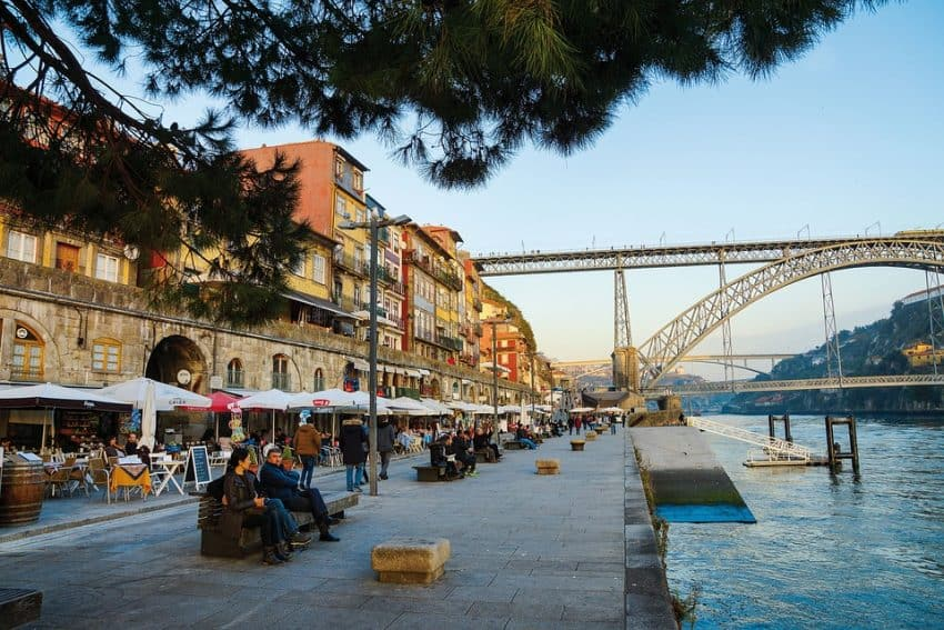 Porto is one of Portugal's largest cities.