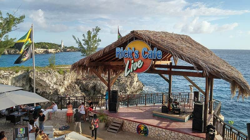 Rick's Cafe Negril, Jamaica