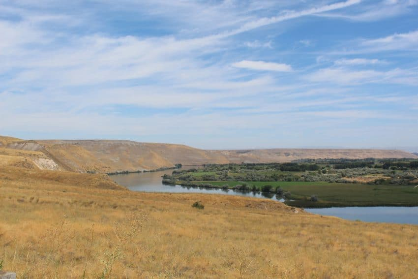 Southern Idaho in contrast - and the importance of water to its success