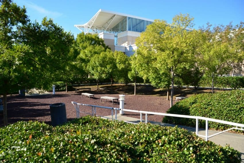 The museum's Sunken Garden at the Airborne Museum is the main area where memorials are housed.