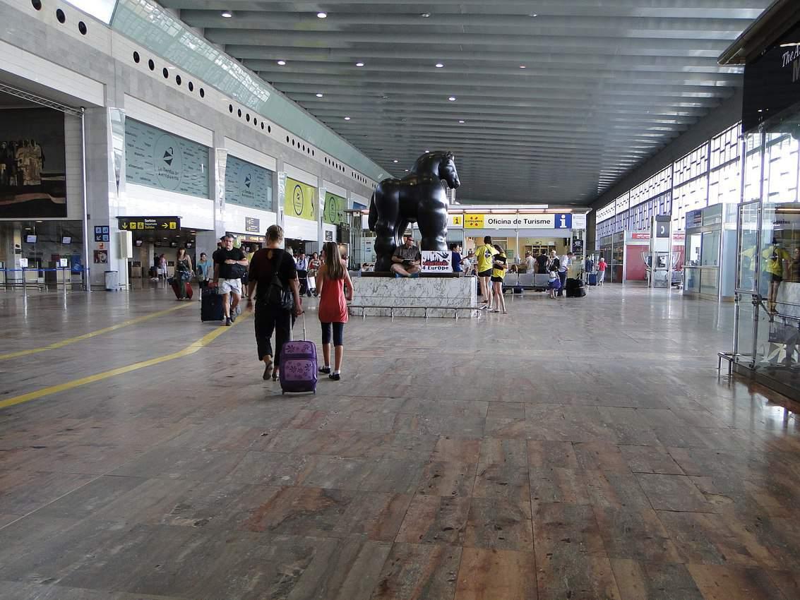 Barcelona El Prat airport.