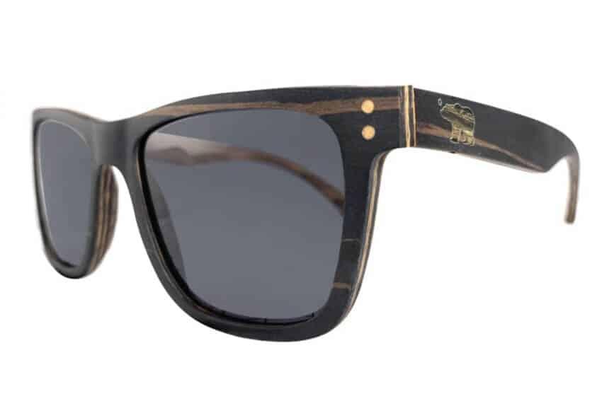 summer necessities: Big Basin sunglasses with walnut frames