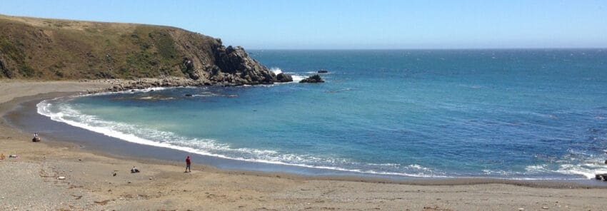 Sandy Cove Beach, Jenner CA.