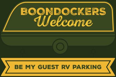 Boondockers welcom