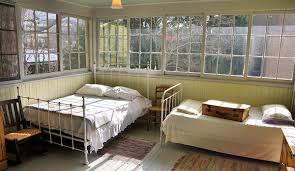 The sleeping porch where Thomas Wolfe slept in Asheville, NC.