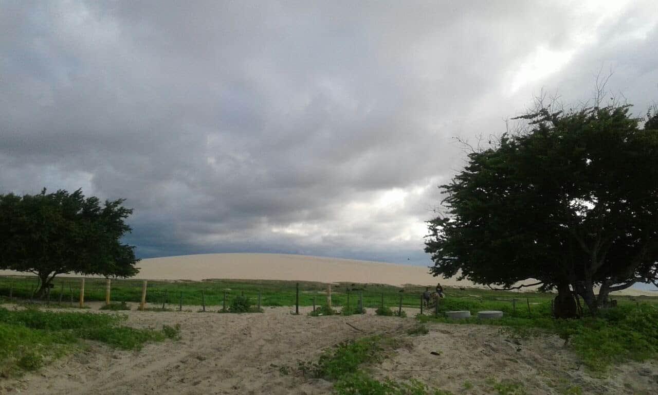 The Duna do Sol, an iconic vista in Jericoacoara, Brazil.