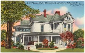 Thomas Wolfe's childhood home in Asheville, NC.