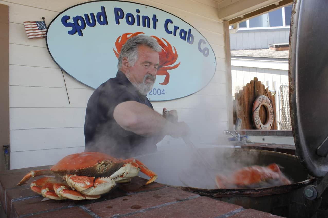 Spud Point Crab Company, Bodega Bay, Sonoma California