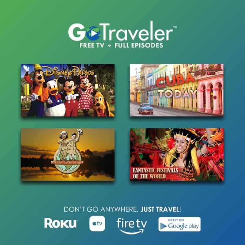 GoTraveler 4 Shows