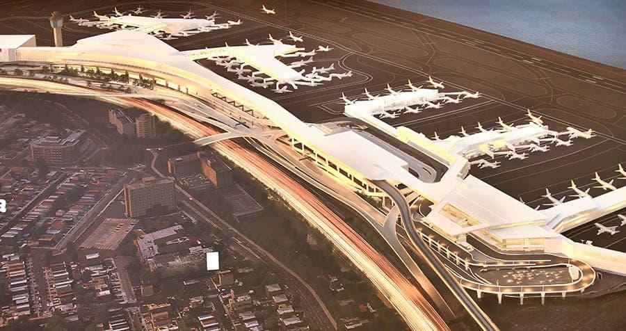 LaGuardia Airport's New Terminal B 1