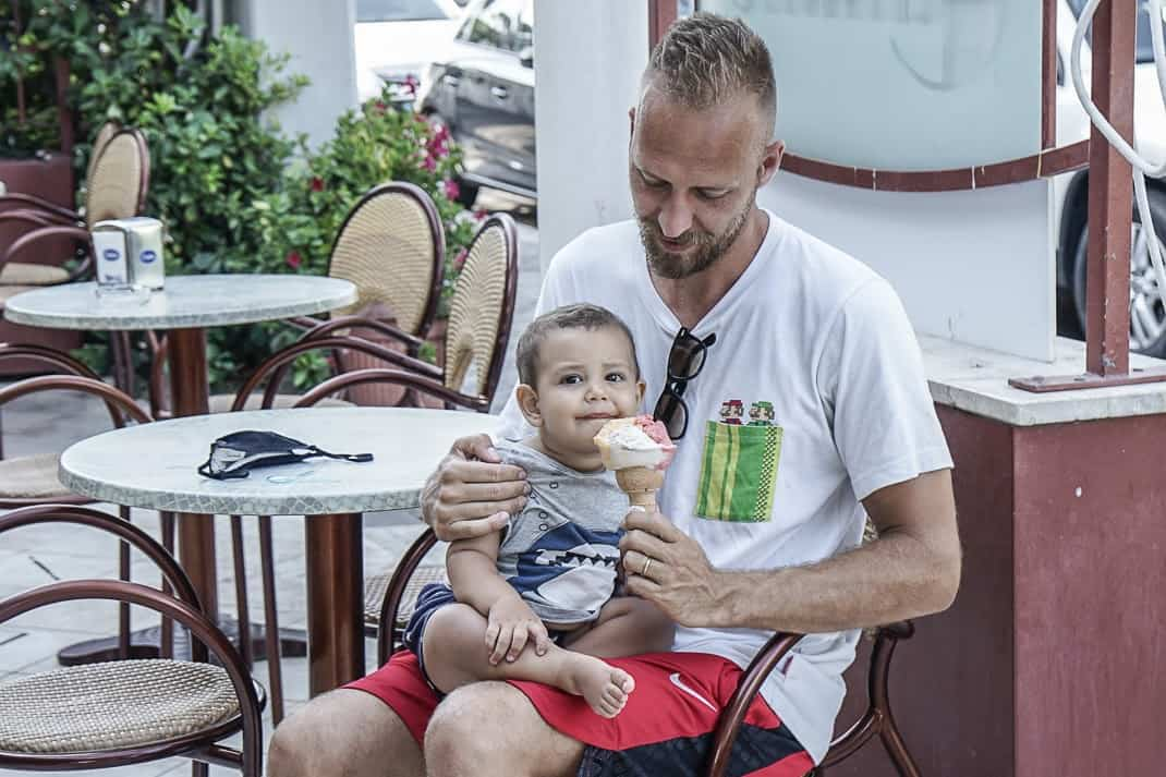 Fregene has gone from a rollicking nightspot to a place for families. Photo by Marina Pascucci