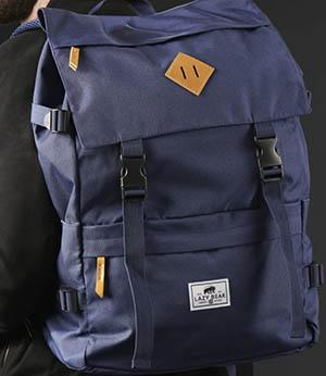 Lance Trendhim navy backpack