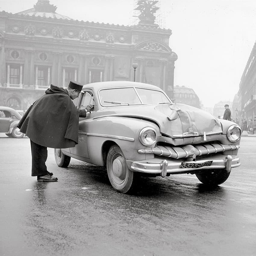 Avenue de l'Opéra, 1950s