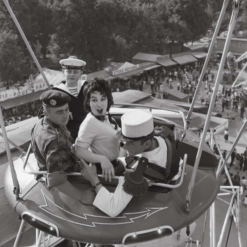 Fair, circa 1960 Paris