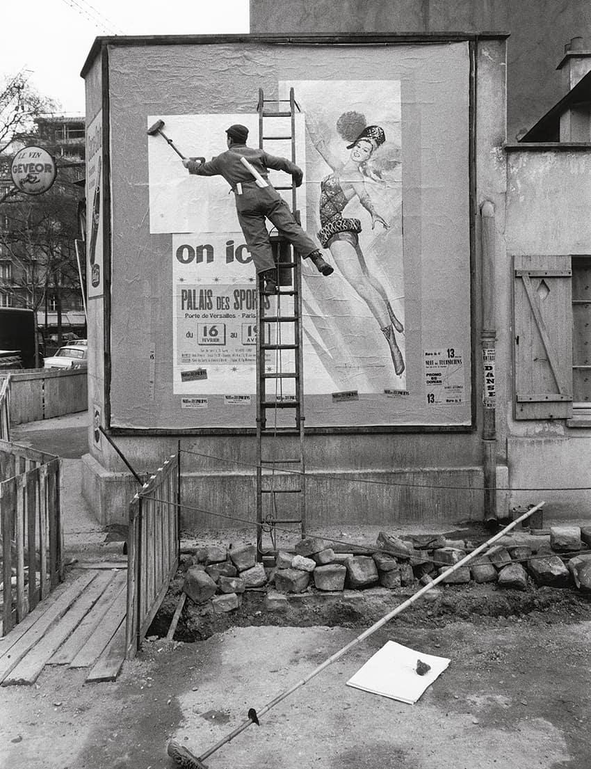 Bill sticker, 1950s