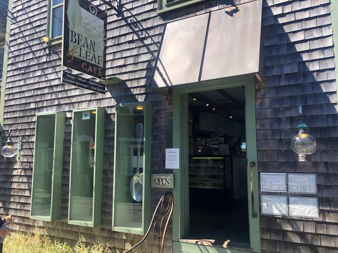 Bean and Leaf Cafe, Rockport