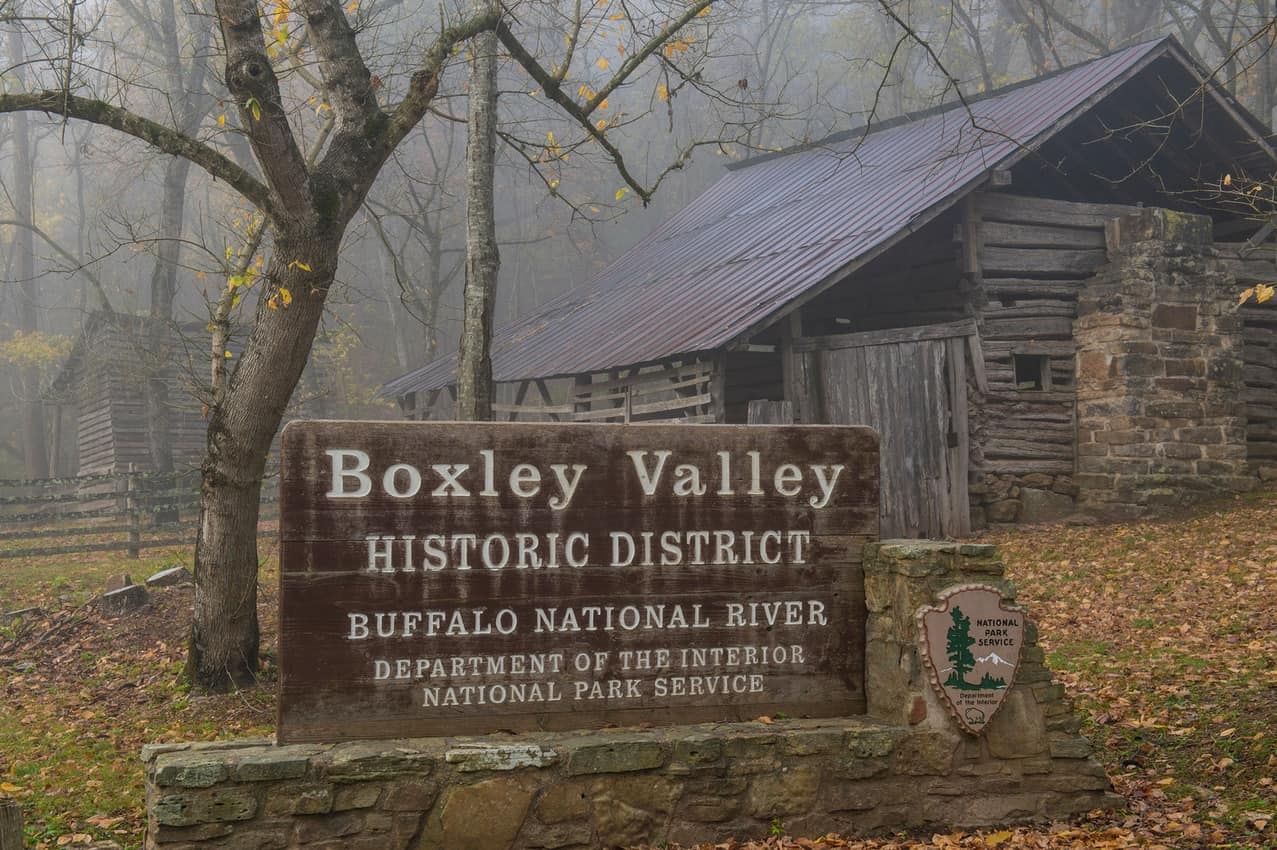 Entering Boxley Valley, get ready to see elk.