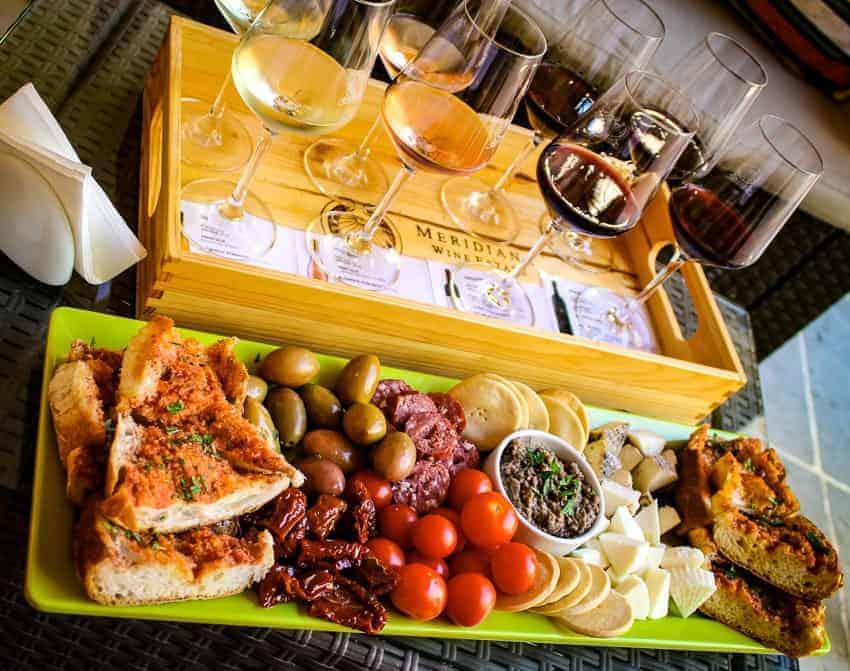 Traditional Maltese food and wine tasting at Meridana Winery, Malta