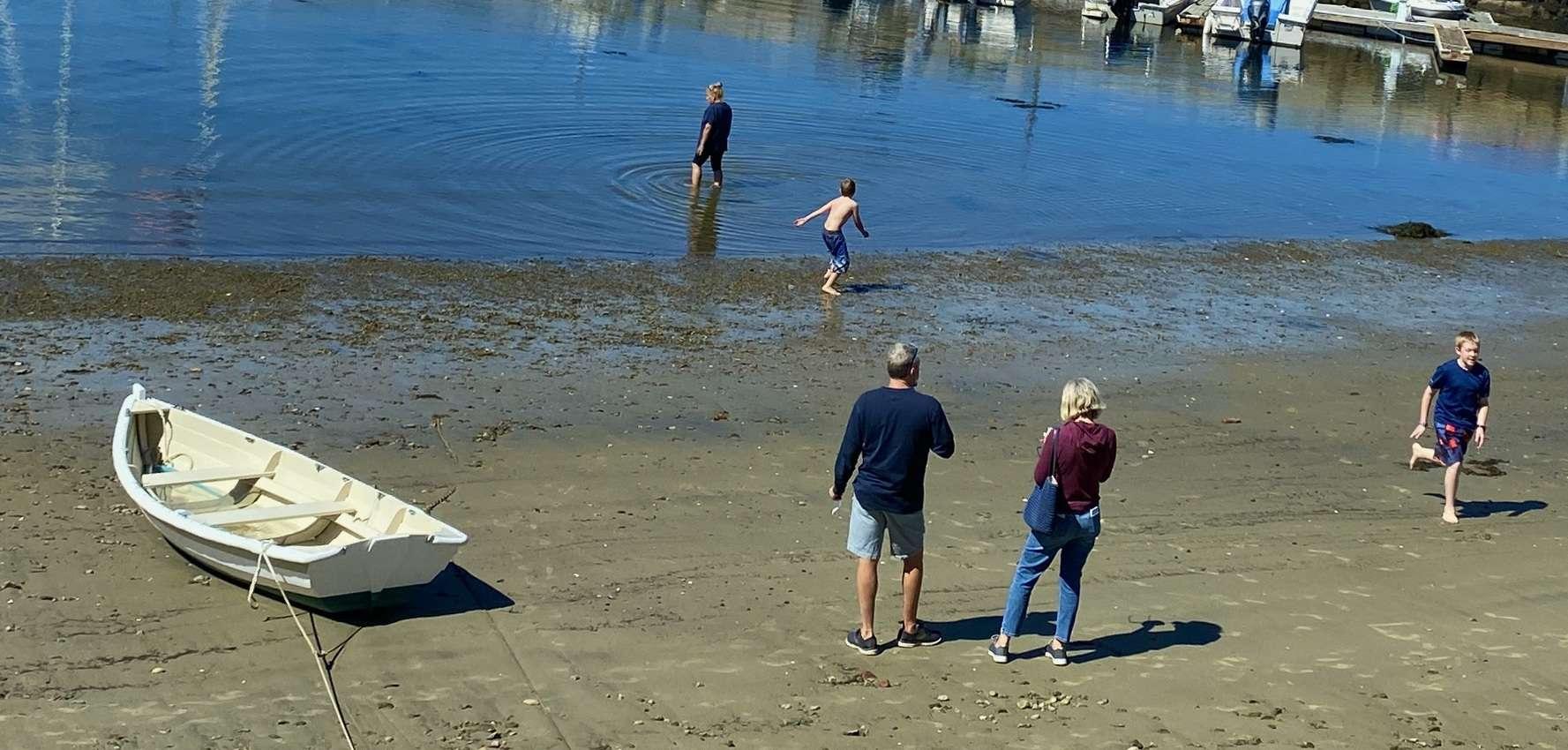 Rockport harbor beach