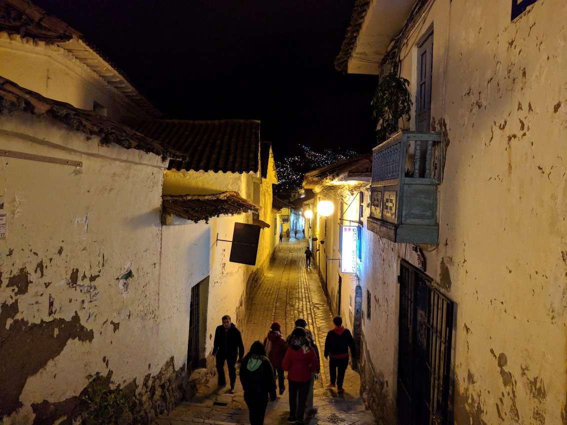 San Blas neighborhood in Cusco, Peru