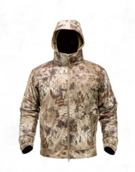 Hiking rain jacket from Kryptek