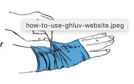 Gluvs, how to use them