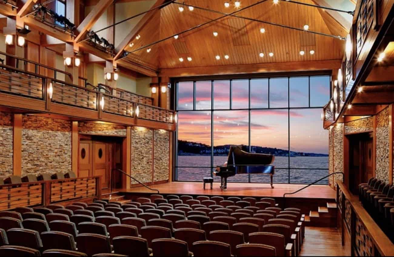 Rockport's Shalin Liu Performance Center is a stage with a view.