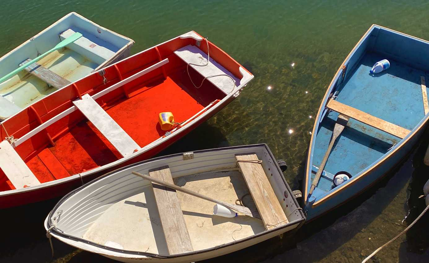 Boats in Rockport. Mary Gilman photo.