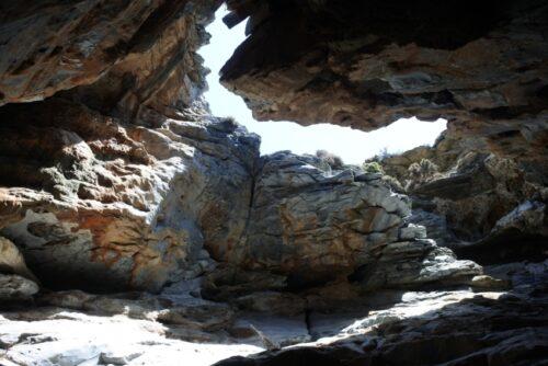 caves near Zorkos beach