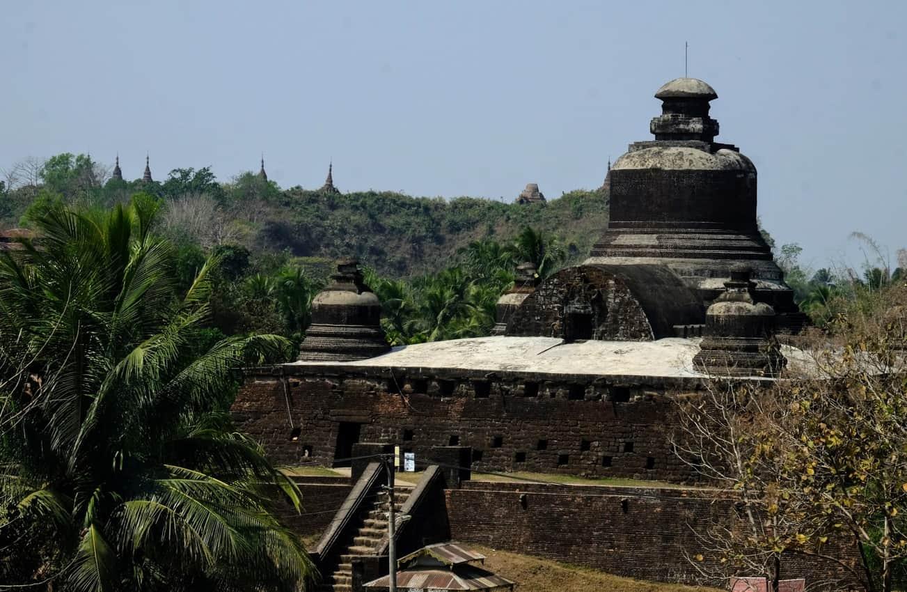 closeup temple
