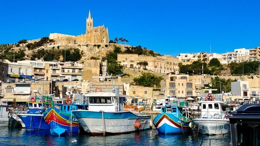 Mgarr Harbor - Gozo Malta