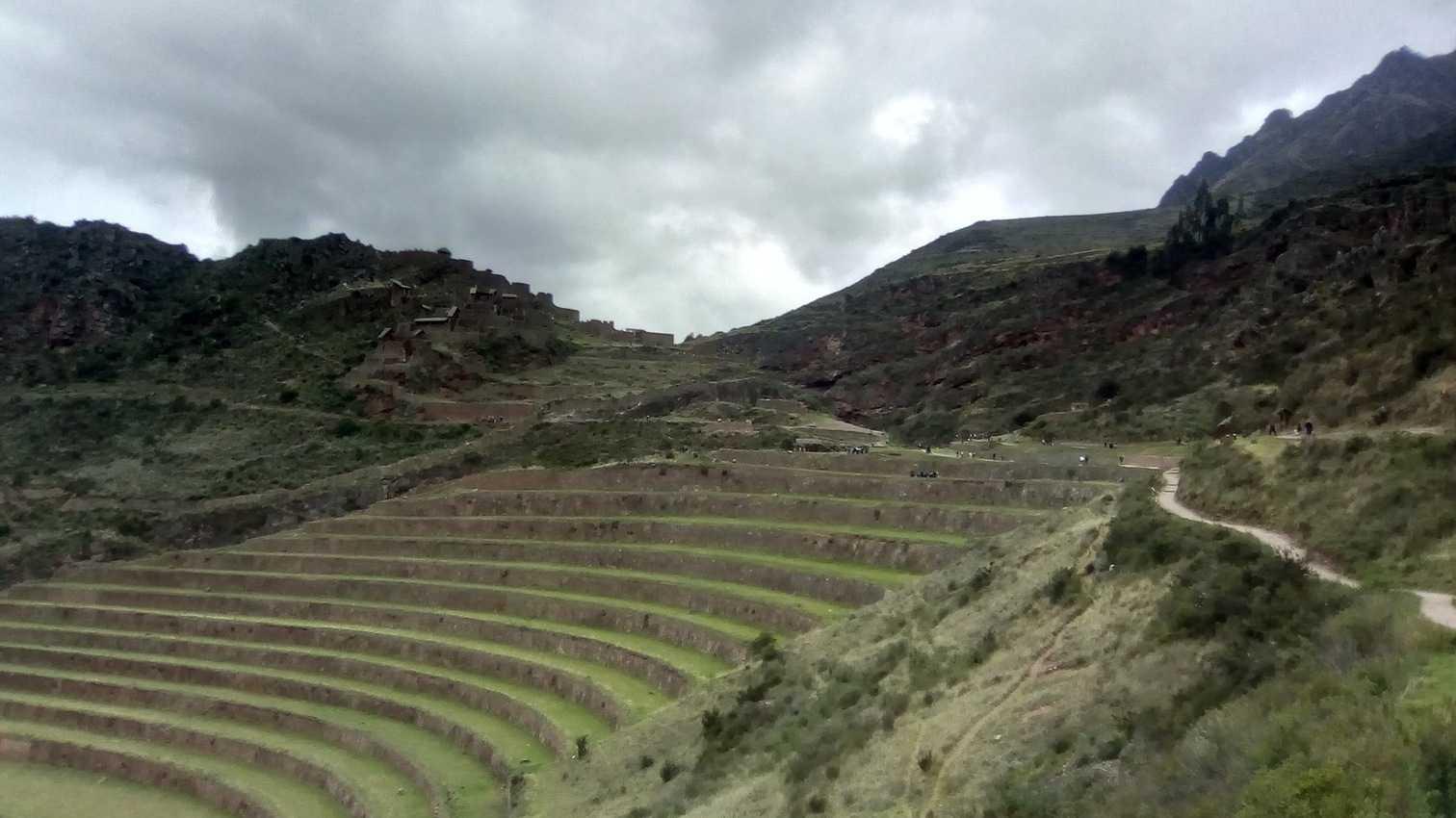 pisaq terraces near Cusco Peru