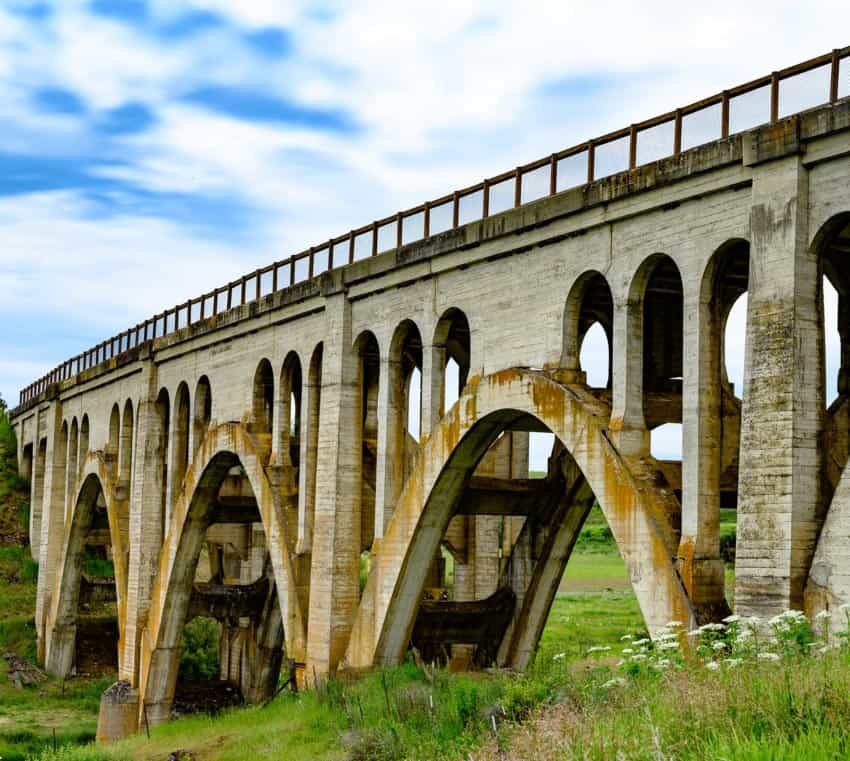 rosalia rail bridge