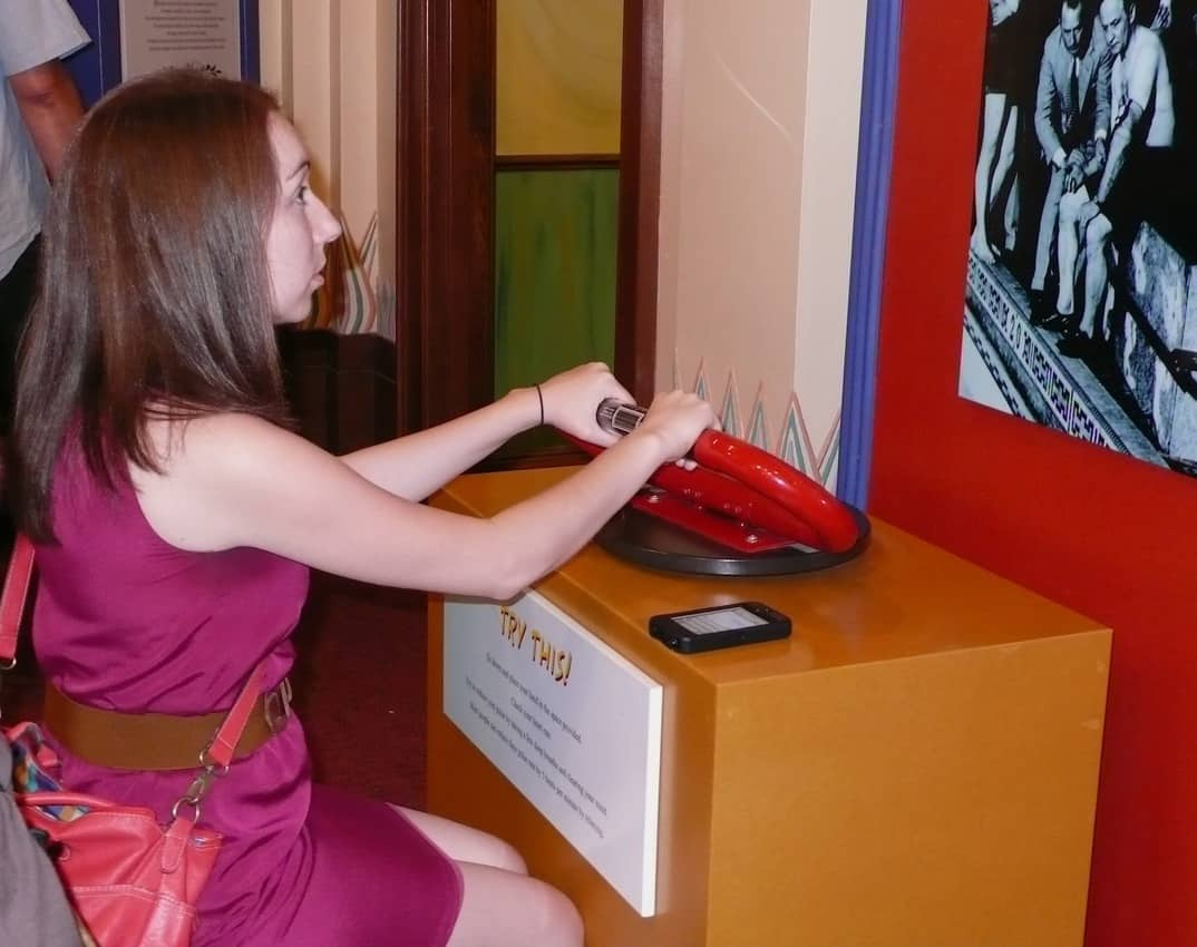 Museum visitors can see if they have Houdini's skills.