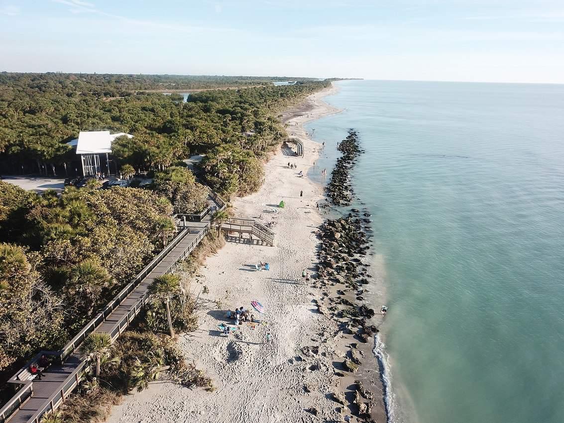 Caspersen Beach Venice Florida. Grendelkahn photo.