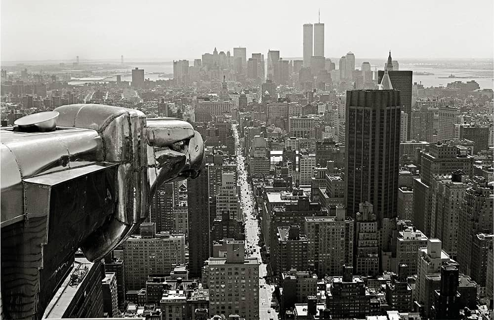 View from Chrysler Building looking south, 1994