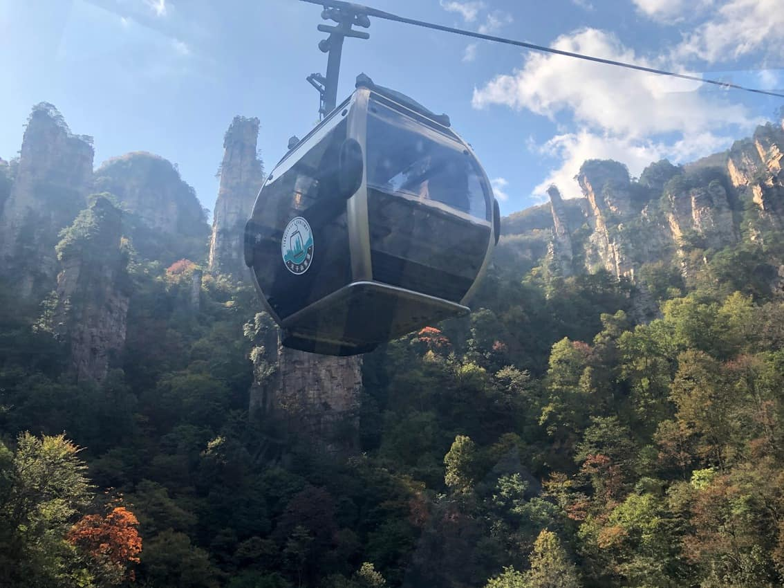 Cable car to the top 1