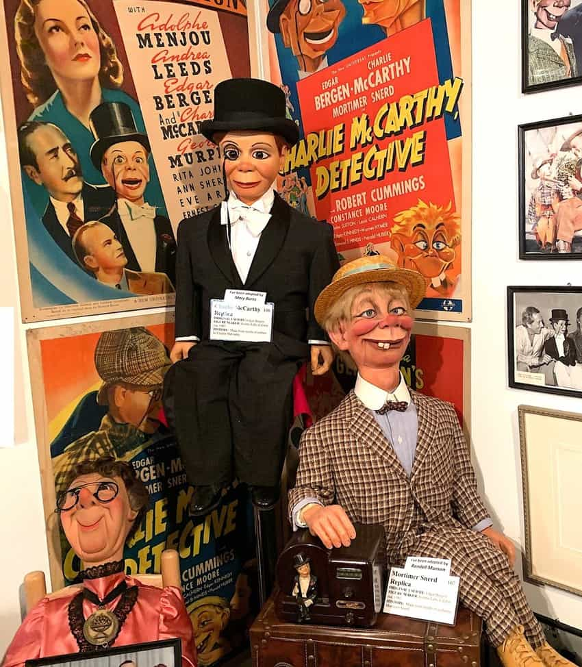 Edgar Bergen and Charlie McCarthy were one of the best-known ventriloquism teams.