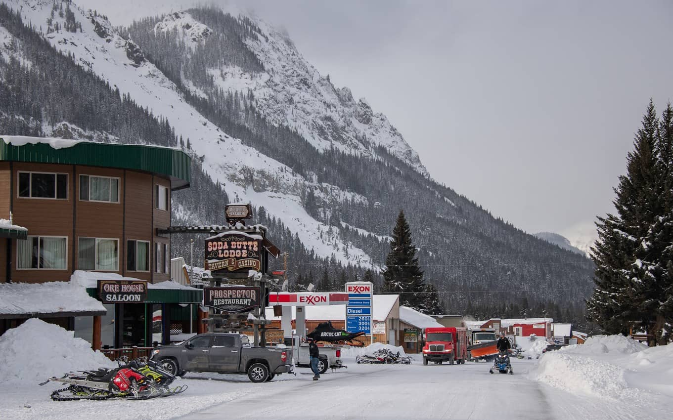 Cooke City is a hot destination for backcountry skiers and advanced snowmobilers, who are comfortable and capable in challenging terrain.