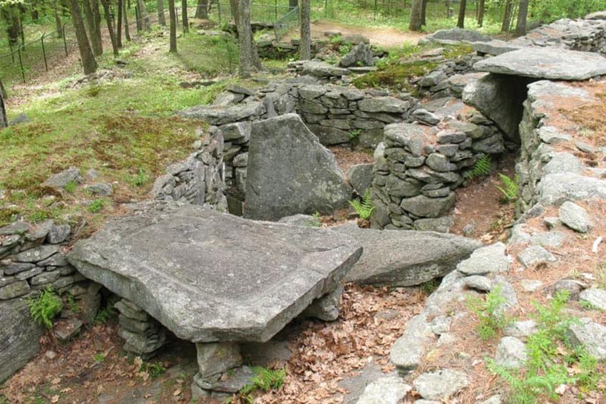 New Hampshire's Stonehenge Mystery