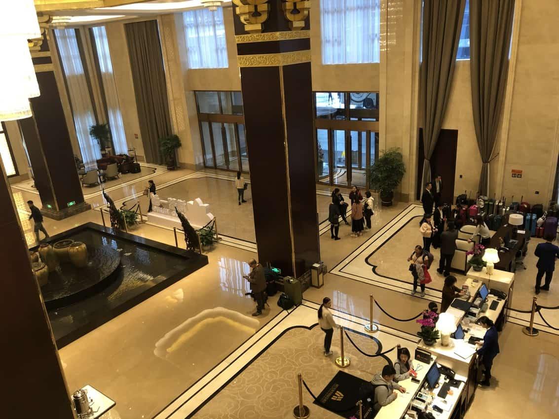 Tongguanyao Macrolink Legend Hotel outside of Changsha.